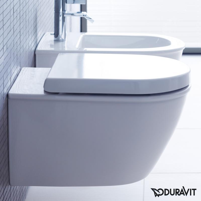 Sehr Gut Duravit Darling New / Starck 2 WC-Sitz mit Absenkautomatik soft  WU02