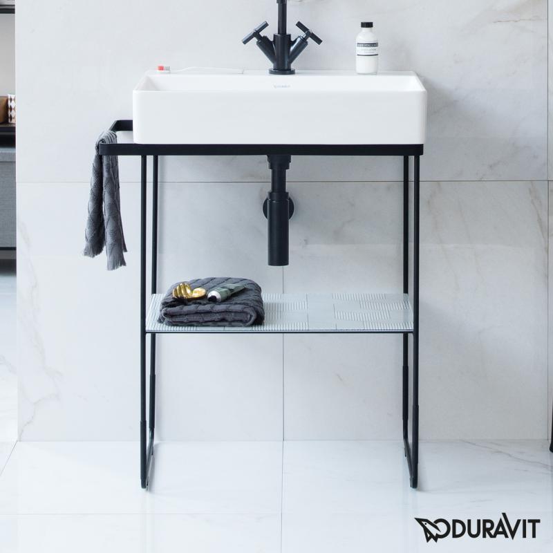 Waschtisch schwarz matt for Badezimmermobel 180 cm