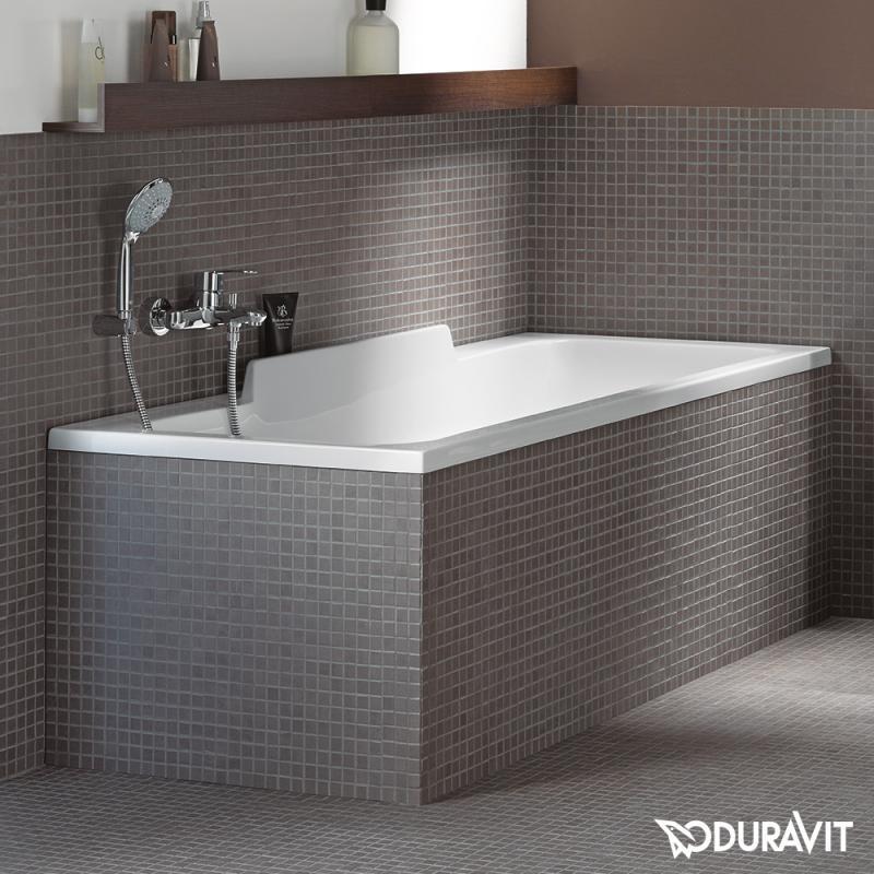 duravit durastyle rechteck badewanne einbauversion oder wannenverkleidung mit r ckenschr ge. Black Bedroom Furniture Sets. Home Design Ideas