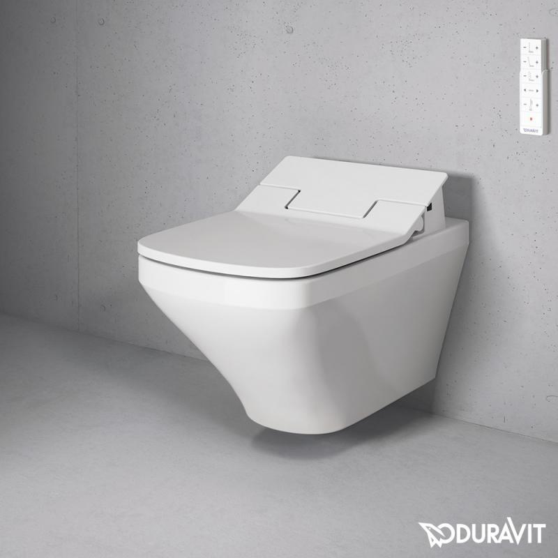 duravit durastyle wand tiefsp l wc mit sensowash slim wc sitz set wei 25375900 61120000. Black Bedroom Furniture Sets. Home Design Ideas