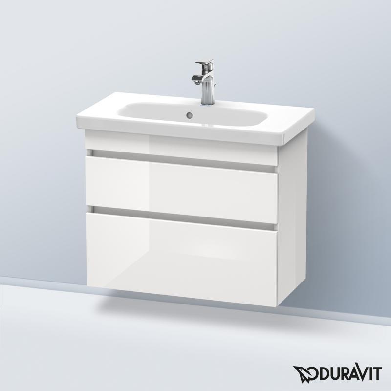 duravit durastyle waschtischunterschrank mit 2 ausz gen front wei hochglanz korpus wei. Black Bedroom Furniture Sets. Home Design Ideas