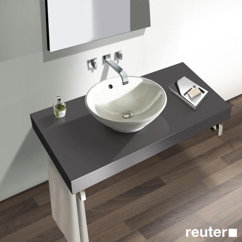 duravit fogo konsole f r 1 aufsatzbecken und einbauwaschtisch graphit matt fo089c04949 100. Black Bedroom Furniture Sets. Home Design Ideas