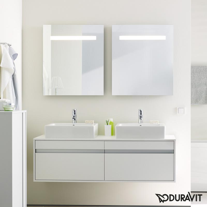 duravit ketho spiegel mit led beleuchtung kt733000000 reuter. Black Bedroom Furniture Sets. Home Design Ideas