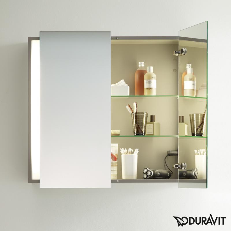 Duravit ketho spiegelschrank mit beleuchtung
