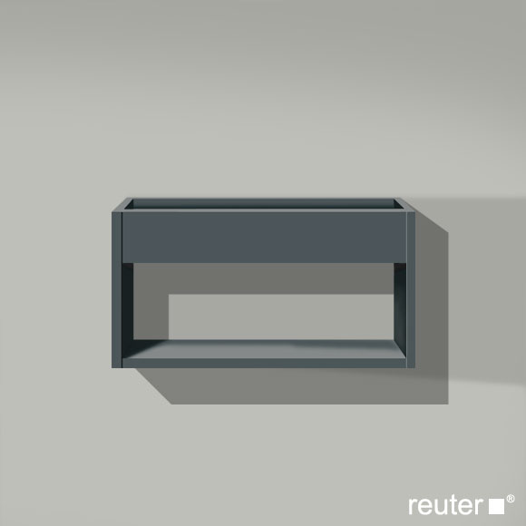 duravit ketho wandregal graphit matt kt253704949 reuter. Black Bedroom Furniture Sets. Home Design Ideas