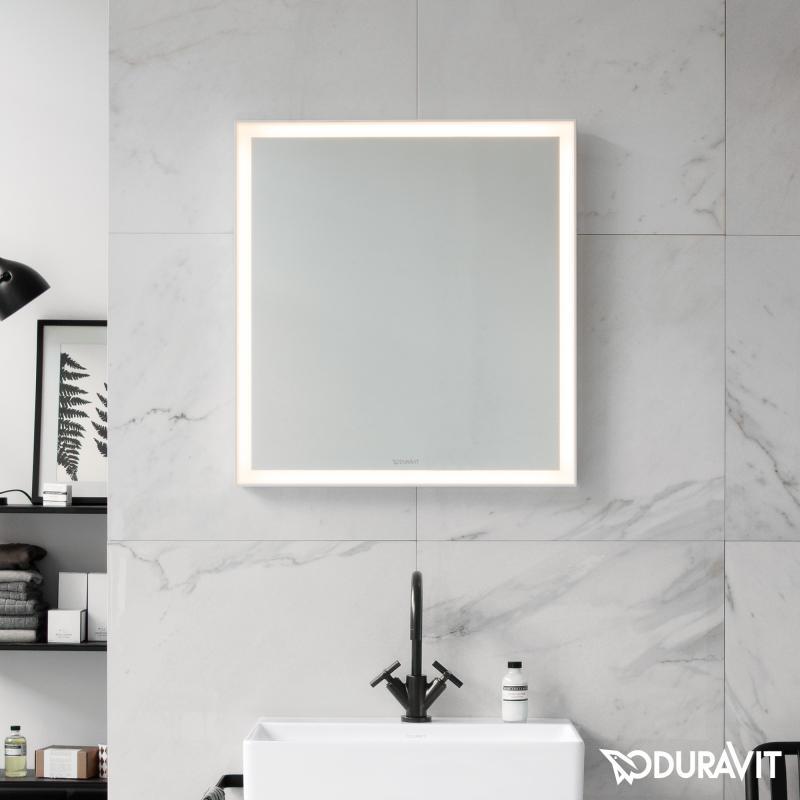 Duravit L Cube Spiegel Mit Led Beleuchtung Lc738000000 Reuter