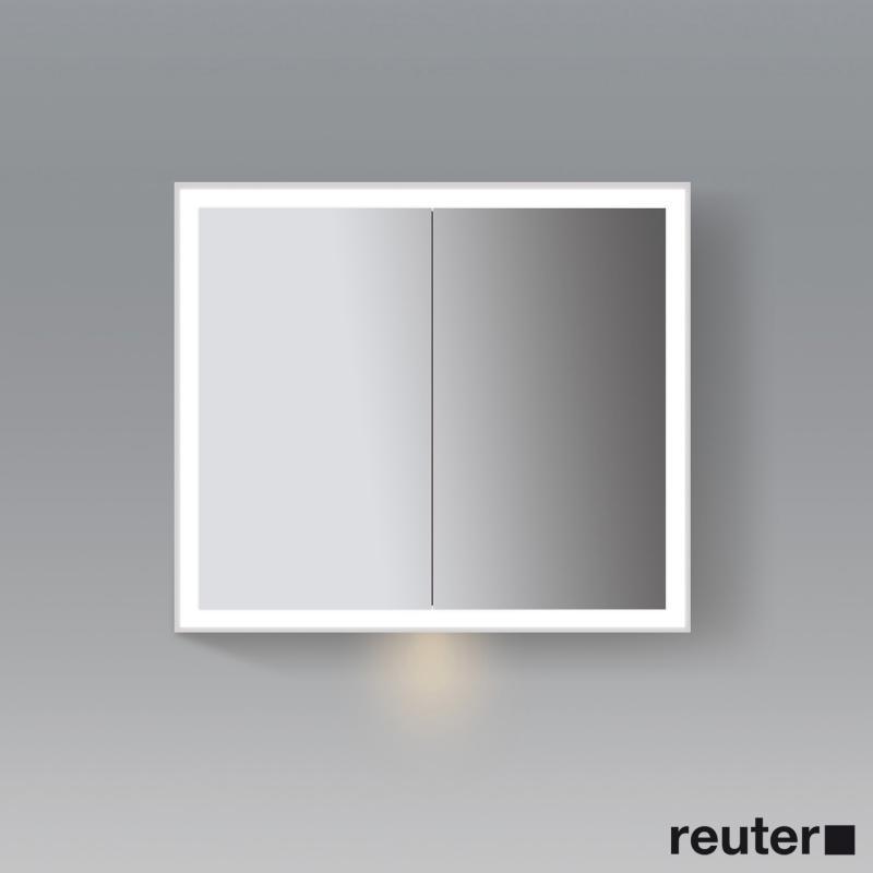 Duravit l cube spiegelschrank mit led beleuchtung mit for Spiegelschrank mit led