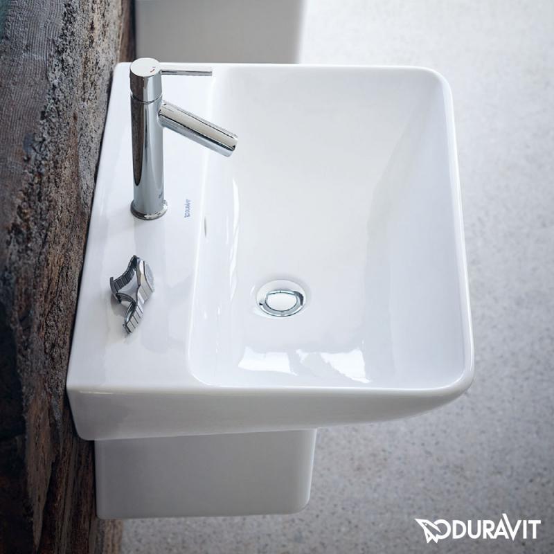 Duravit waschbecken eckig  Duravit ME by Starck Waschtisch weiß, mit 1 Hahnloch - 2335600000 ...