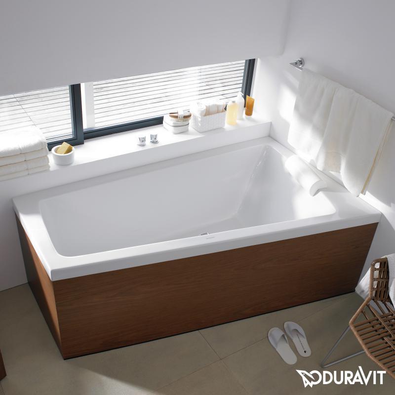 duravit paiova eck badewanne einbauversion eckeinbau On trapez badewanne 2 personen
