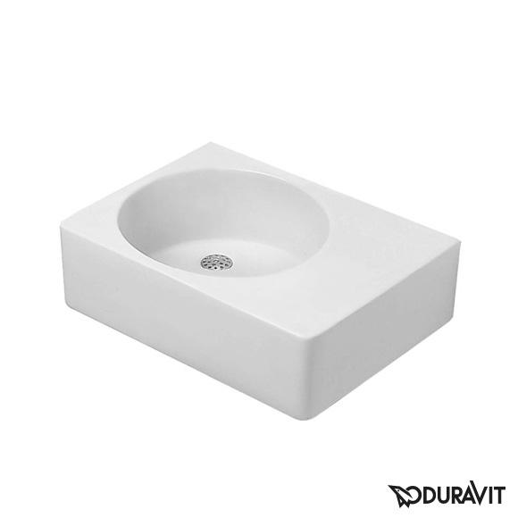duravit scola waschtisch wei ohne hahnloch becken links 0684600000 reuter. Black Bedroom Furniture Sets. Home Design Ideas