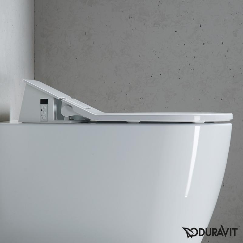 duravit sensowash slim dusch wc sitz mit absenkautomatik soft close 611000002004300 reuter. Black Bedroom Furniture Sets. Home Design Ideas