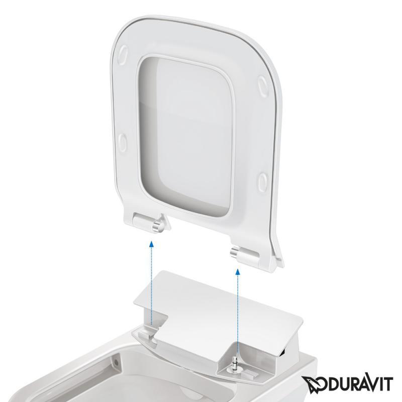 duravit sensowash slim f r p3 comforts dusch wc sitz 611400002004300 reuter. Black Bedroom Furniture Sets. Home Design Ideas