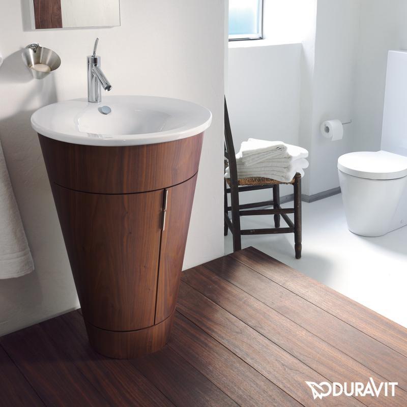 duravit starck 1 m bel waschtisch wei mit wondergliss 04065800001 reuter. Black Bedroom Furniture Sets. Home Design Ideas
