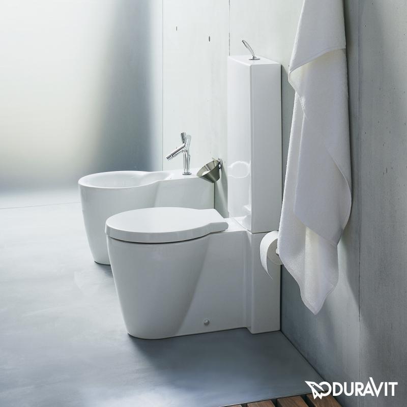 Toilette Duravit modern duravit starck component bathtub for bathroom ideas