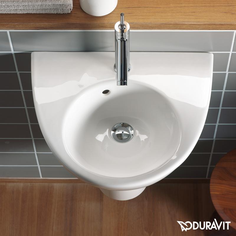 duravit starck 2 handwaschbecken wei 0714500000 reuter. Black Bedroom Furniture Sets. Home Design Ideas