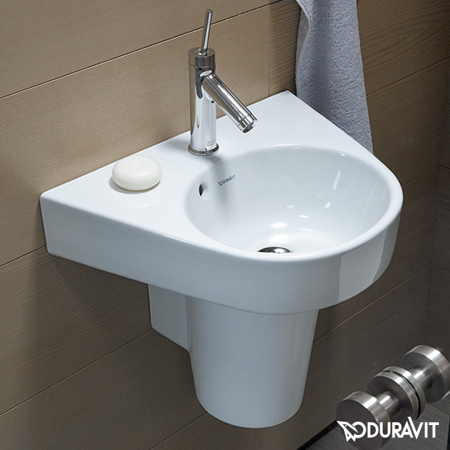 Duravit Starck 2 Handwaschbecken weiß, mit WonderGliss - 07145000001 ...