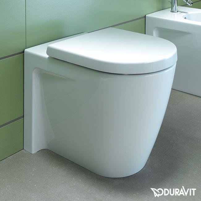 duravit starck 2 stand tiefsp l wc wei 2128090000 reuter. Black Bedroom Furniture Sets. Home Design Ideas