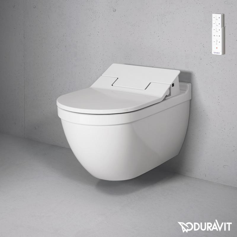 duravit starck 3 wand tiefsp l wc mit sensowash slim wc sitz set wei mit wondergliss. Black Bedroom Furniture Sets. Home Design Ideas