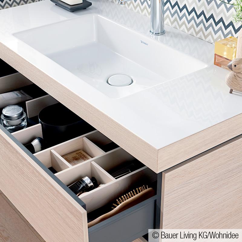 duravit vero air waschtisch mit l cube waschtischunterschrank mit 2 ausz gen mediterrane eiche. Black Bedroom Furniture Sets. Home Design Ideas