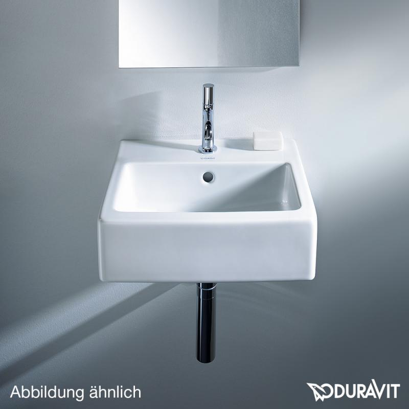 duravit vero handwaschbecken wei ohne hahnloch ungeschliffen mit berlauf 0704450060 reuter. Black Bedroom Furniture Sets. Home Design Ideas