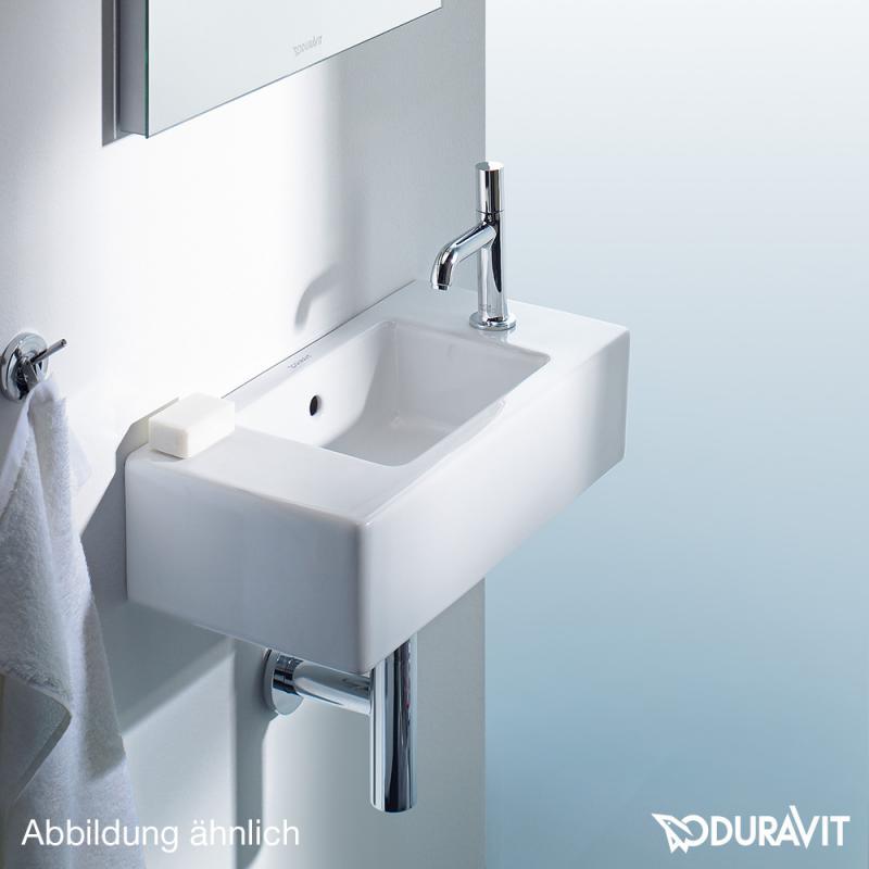 duravit vero handwaschbecken schwarz ohne hahnloch 0703500800 reuter. Black Bedroom Furniture Sets. Home Design Ideas