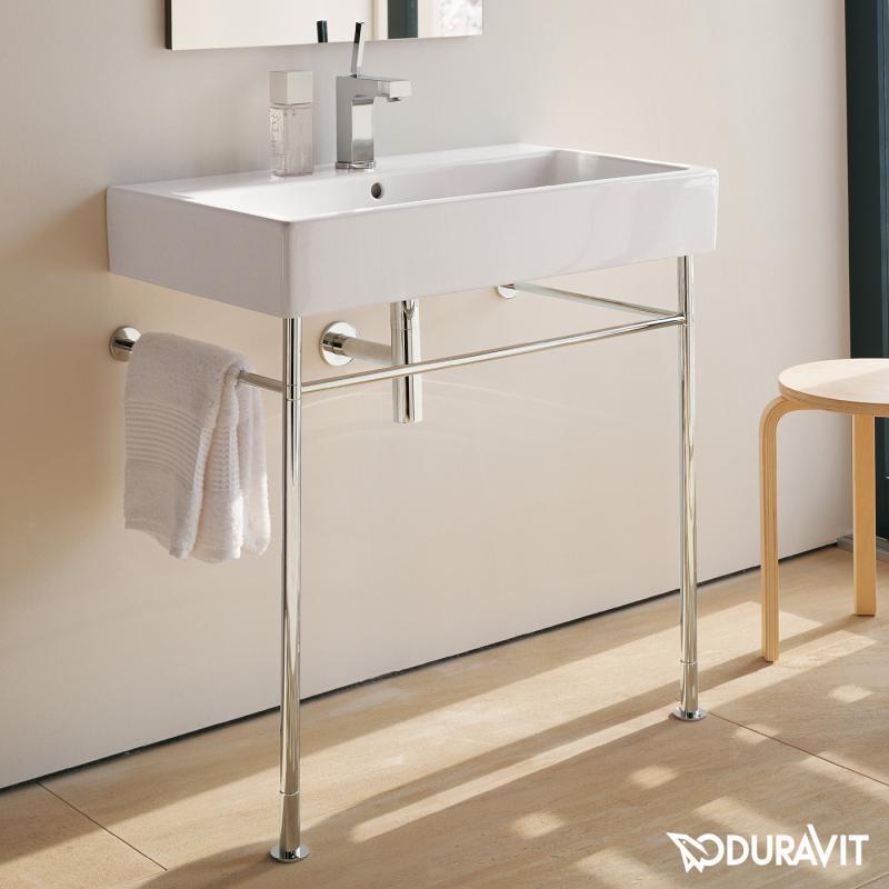 duravit vero metallkonsole f r waschtische 100 cm 0030671000 reuter. Black Bedroom Furniture Sets. Home Design Ideas