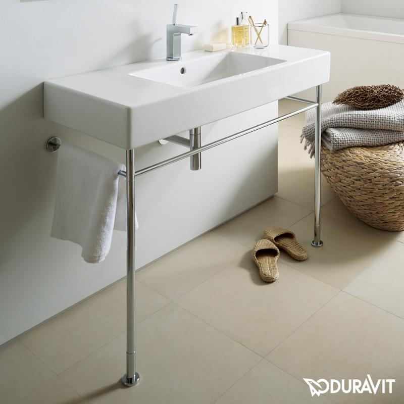 Duravit vero metallkonsole f r waschtische 120 cm for Waschtische 120