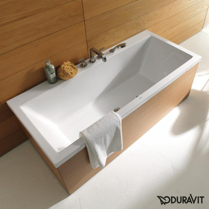 Badewanne preis  Duravit Vero Rechteck Badewanne, Einbauversion oder ...