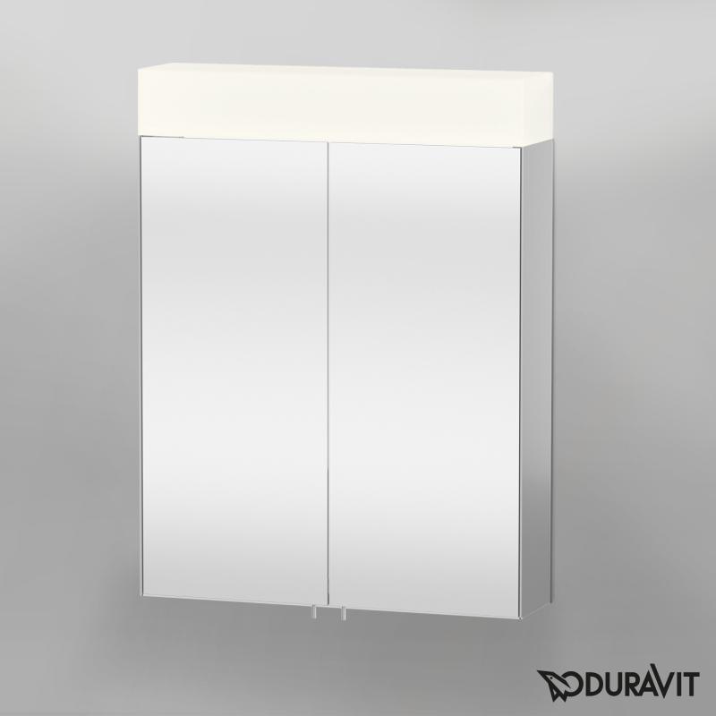 Duravit Vero Spiegelschrank Mit Led Beleuchtung 1 Steckdose