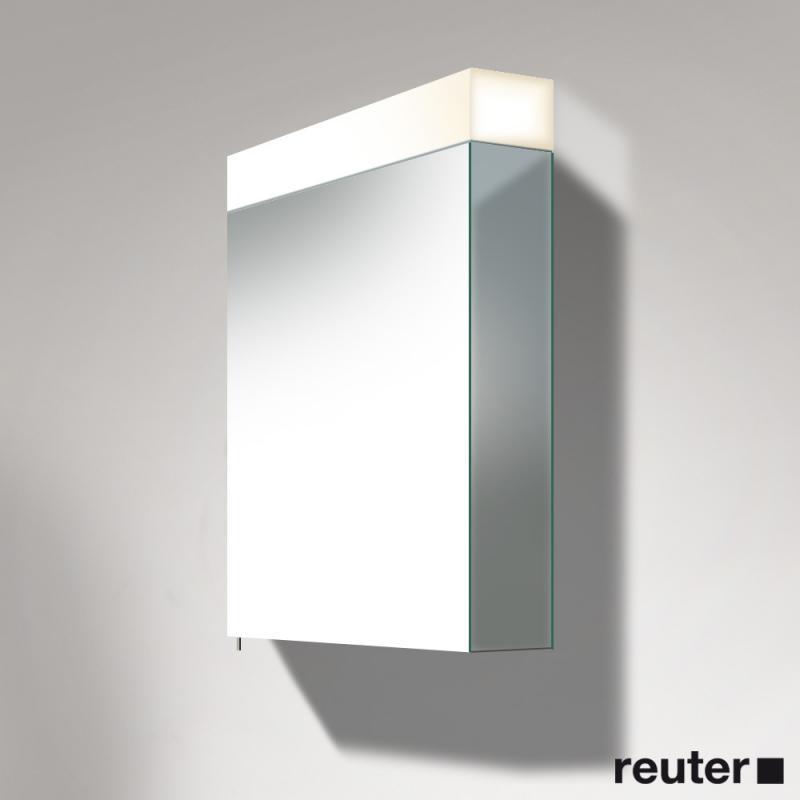 Duravit Vero Spiegelschrank mit LED-Beleuchtung 1 Steckdose ...