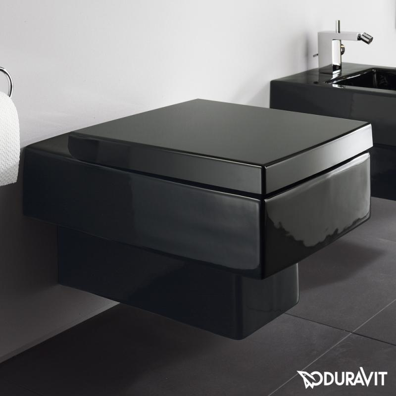 duravit vero wand wc schwarz abdeckung ablauf dusche. Black Bedroom Furniture Sets. Home Design Ideas