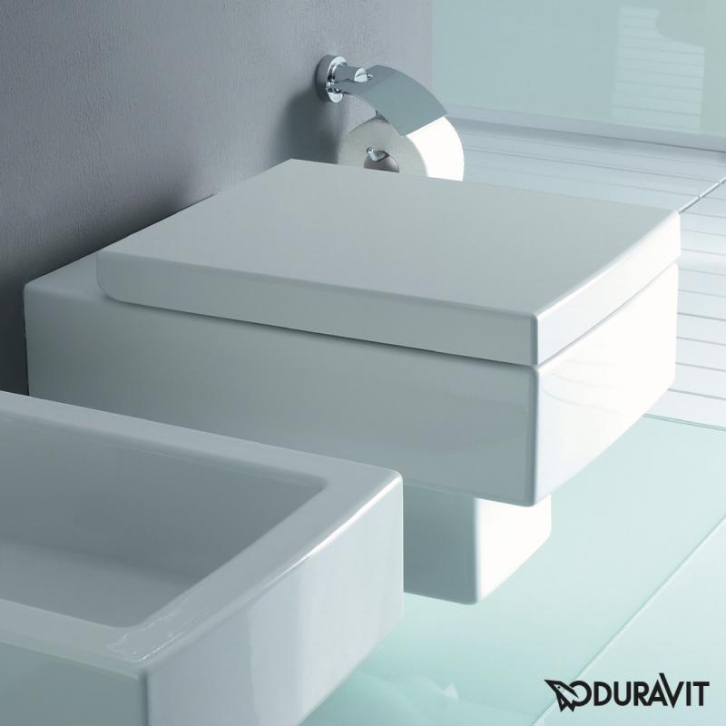 Toilette Duravit wand wc eckig die schönsten einrichtungsideen