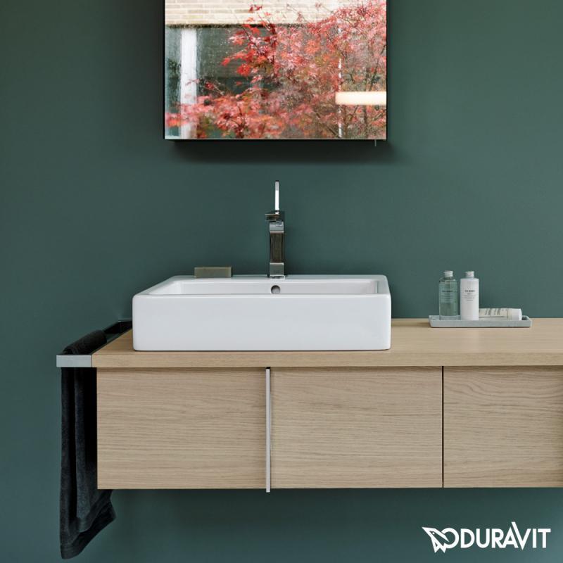 Gut Duravit Vero Waschtischunterbau für Konsole mediterrane eiche  WS46