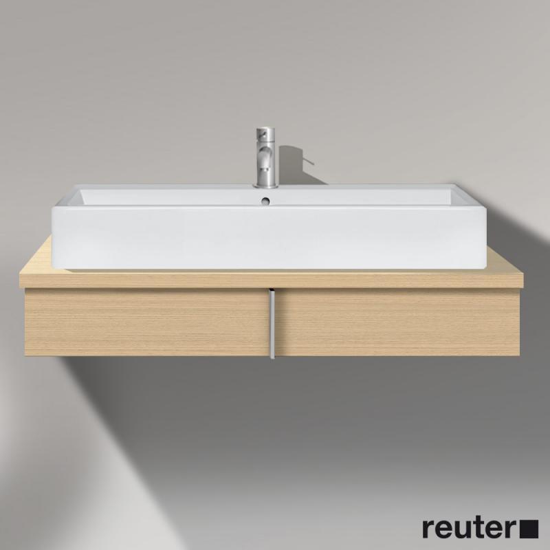 duravit vero waschtischunterschrank f r konsole mit 1 auszug mediterrane eiche ve656207171. Black Bedroom Furniture Sets. Home Design Ideas
