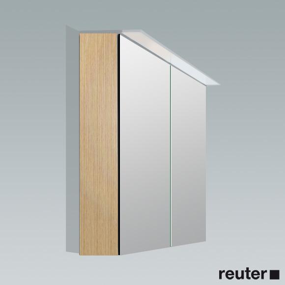 Duravit X Large Spiegelschrank eiche gebürstet   XL759201212