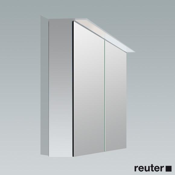 Spiegelschrank Weiß Hochglanz 80 Cm - Badezimmer 2016