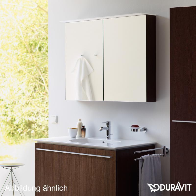Duravit X Large Spiegelschrank weiß hochglanz Dekor   XL759202222