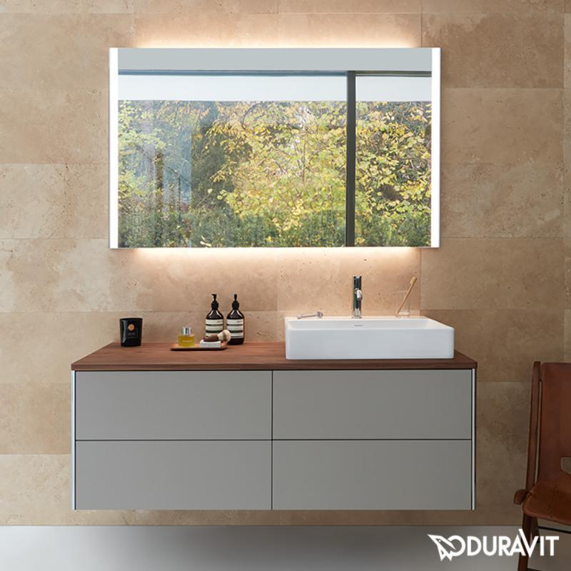 duravit xsquare waschtischunterschrank f r konsole mit 4 ausz gen front wei hochglanz korpus. Black Bedroom Furniture Sets. Home Design Ideas