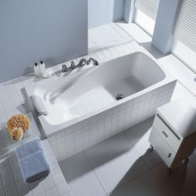 Duscholux Ancona Free-Line Rechteck Badewanne weiß