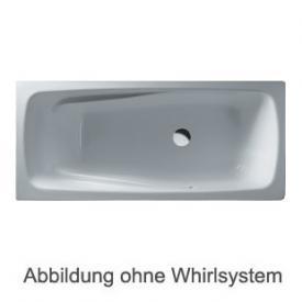 Duscholux Ancona Free-line 118 Rechteck Badewanne L: 180 B: 80 H: 45,5 cm weiss CPL 1 Whirlsystem