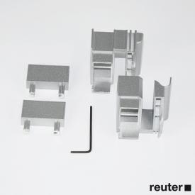 Duscholux Carat BRL-Winkel zur Verbindung Tür mit Seitenteil