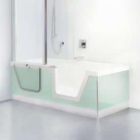 Duscholux Step-In Pure Badewanne mit entnehmbarem Türeinsatz, Einbau