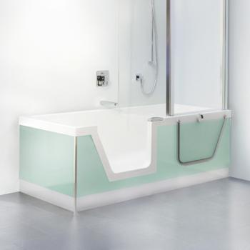 begehbare wannen badewannen mit t r reuter onlineshop. Black Bedroom Furniture Sets. Home Design Ideas