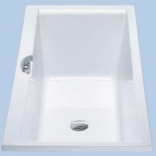 Duscholux Ancona Trend Rechteck Badewanne weiß