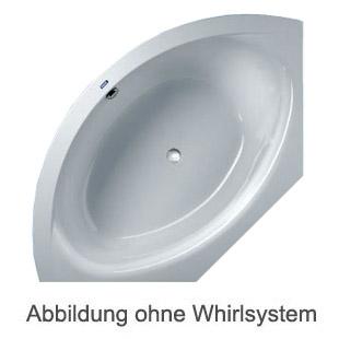 Duscholux SMART-line 31 Eck Badewanne L: 140 B: 140 H: 50 cm weiss CPL 1 Whirlsystem