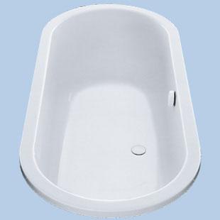Duscholux Portofino Oval Badewanne weiß