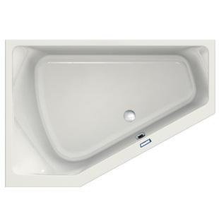 Duscholux Prime-Line Raumspar-Badewanne weiß