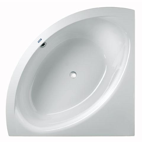 Duscholux SMART-line Eck Badewanne weiß