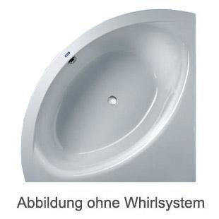 Duscholux SMART-line 30 Eck Badewanne L: 140 B: 140 H: 50 cm weiss CPL 1 Whirlsystem