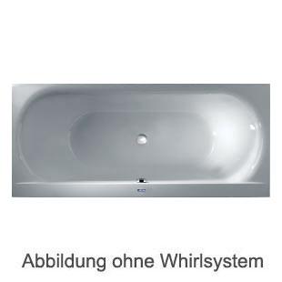 Duscholux SMART-line 38 Rechteck Badewanne L: 180 B: 80 H: 50 cm weiss CPL 1 Whirlsystem
